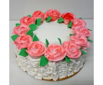 עוגת קרם שושנים